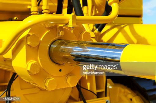 Hydraulic piston system : Stock Photo