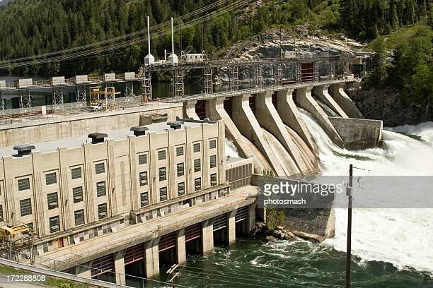 Brillante Hydro generazione di energia elettrica.