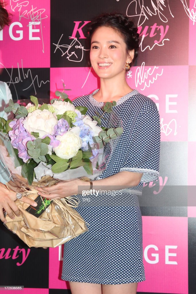 Hye-gyo Song attended Laneige Cocktail Party on Tuesday July 02, 2013 in Hong Kong, China.