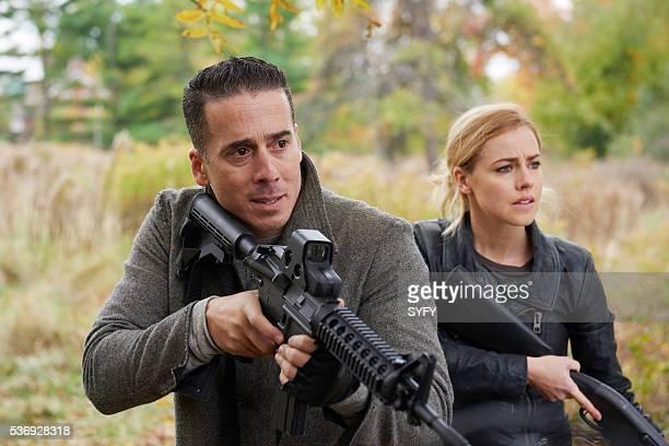 12 MONKEYS 'Hyena' Episode 209 Pictured Kirk Acevedo as Jose Ramse Amanda Schull as Cassandra Railly