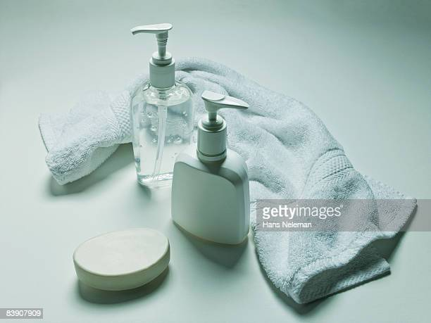 Hygiene products still life