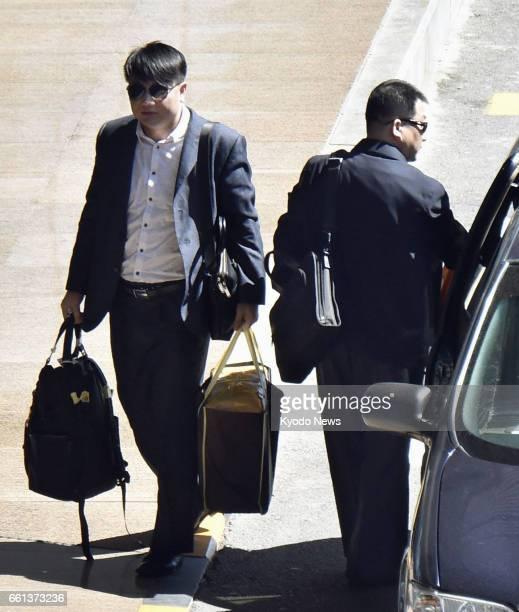 Hyon Kwang Song second secretary of the North Korean Embassy in Kuala Lumpur and Kim Uk Il an employee of North Korea's national carrier Air Koryo...