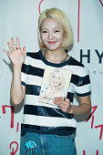 Hyoyeon of Girls' Generation attends the release event for her fashion beauty and life style book 'HYO STYLE' on July 1 2015 in Seoul South Korea