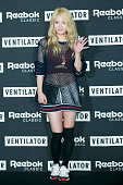 Hyoyeon of South Korean girl group Girls' Generation attends Reebok Classic 'Ventilator' Launch Party on April 2 2015 in Seoul South Korea