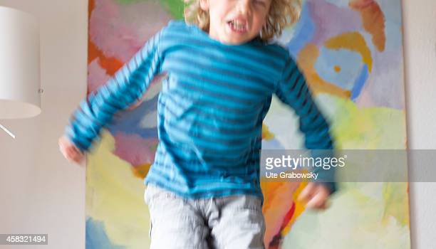 Hyperactive and angry sixyearold boy on August 05 in Sankt Augustin Germany Photo by Ute Grabowsky/Photothek via Getty Images