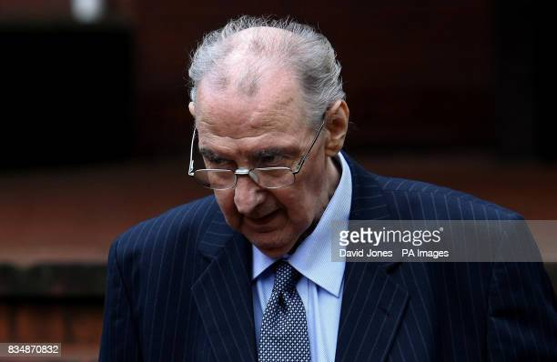 Hypnotherapist Peter Knight leaves Birmingham Crown Court where he is charged with committing a string of sexual offences against women and girls...