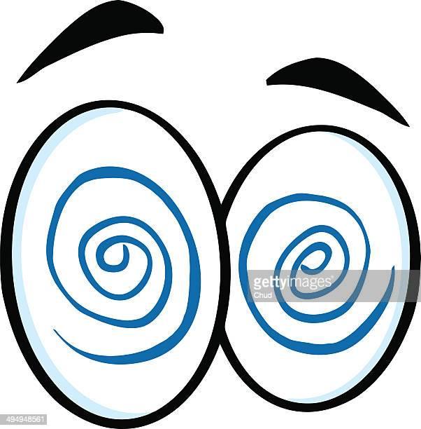 Hypnotized Cartoon Eyes
