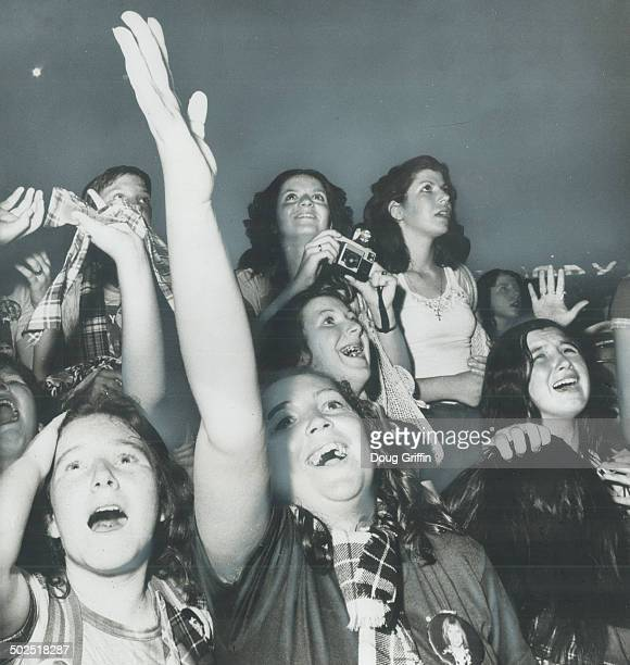 Hysterical fans scream as Bay City Rollers performed in Toronto Aug11 many wearing tartan plaids that the Rollers made popular But many readers and...