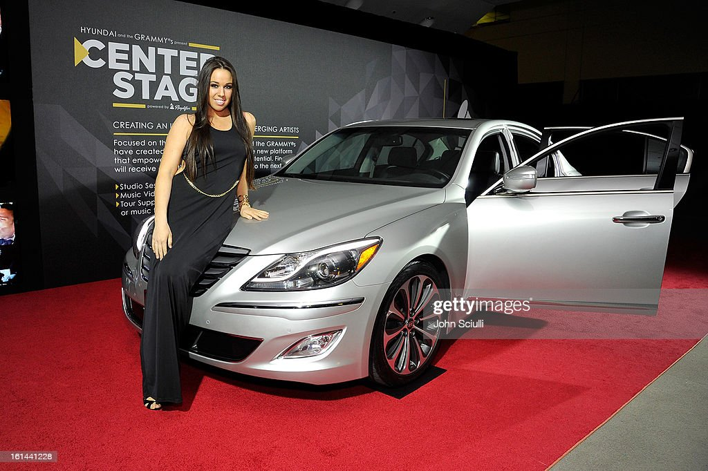 Hyundai displayed at the 55th Annual GRAMMY Awards after party at the Los Angeles Convention Center on February 10, 2013 in Los Angeles, California.