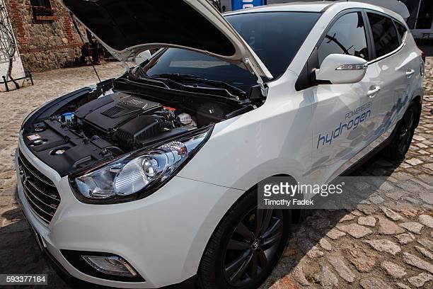 Hyundai ix35 hydrogenpowered automobile