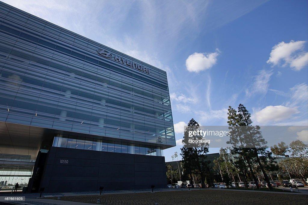 Hyundai Motor America Headquarters Stands In Fountain