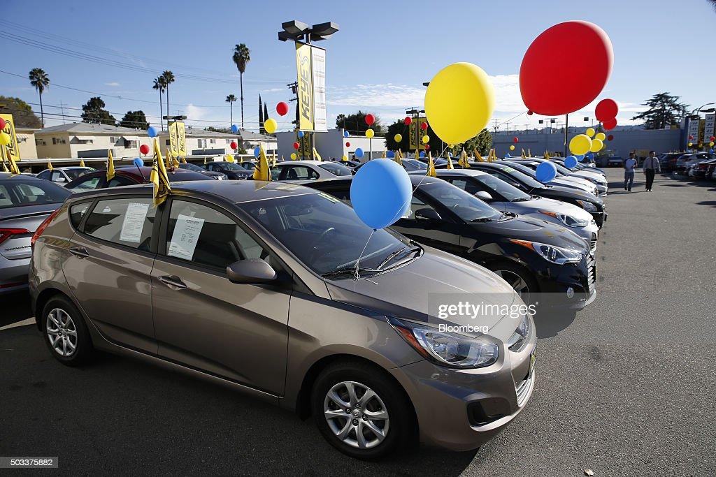 Inside Car Dealerships Ahead Of Motor Vehicle Sales