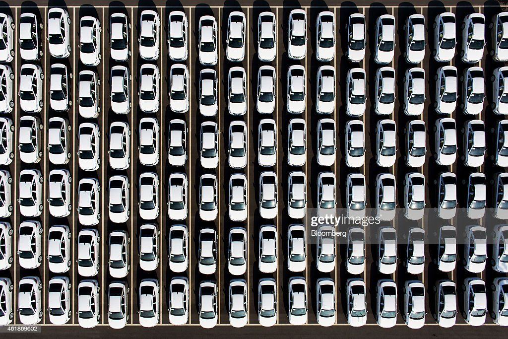 Vehicle assembly inside a hyundai motor co factory ahead of fourth