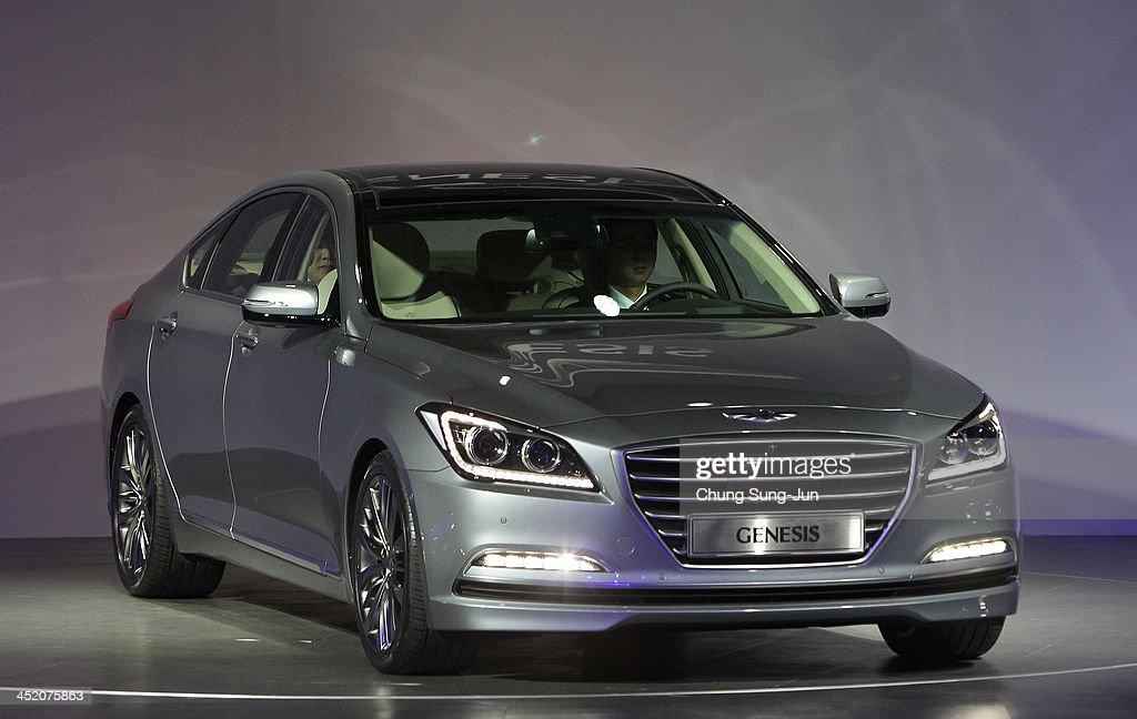 Launch of hyundai motor company s all new genesis in seoul getty