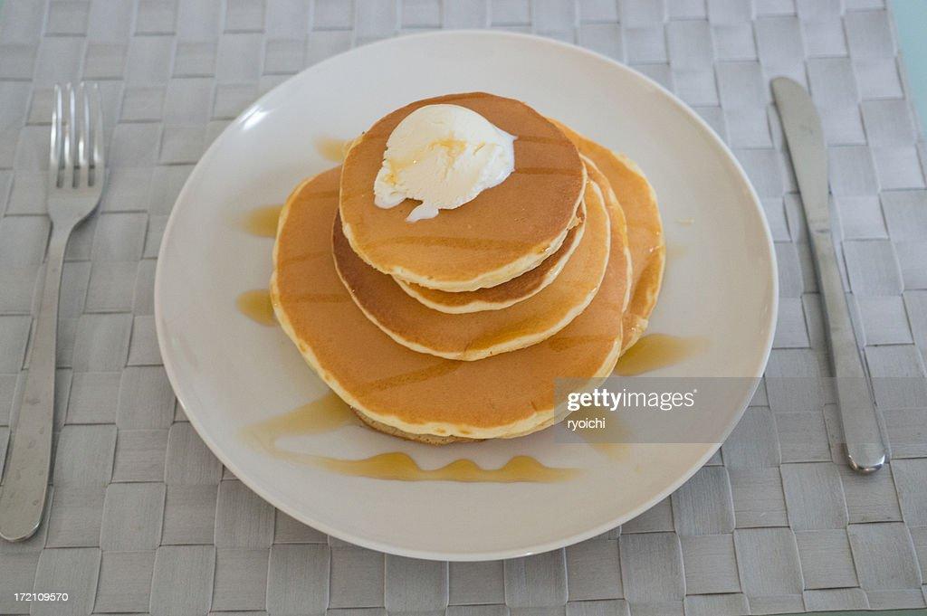i love pancake! : Stock Photo