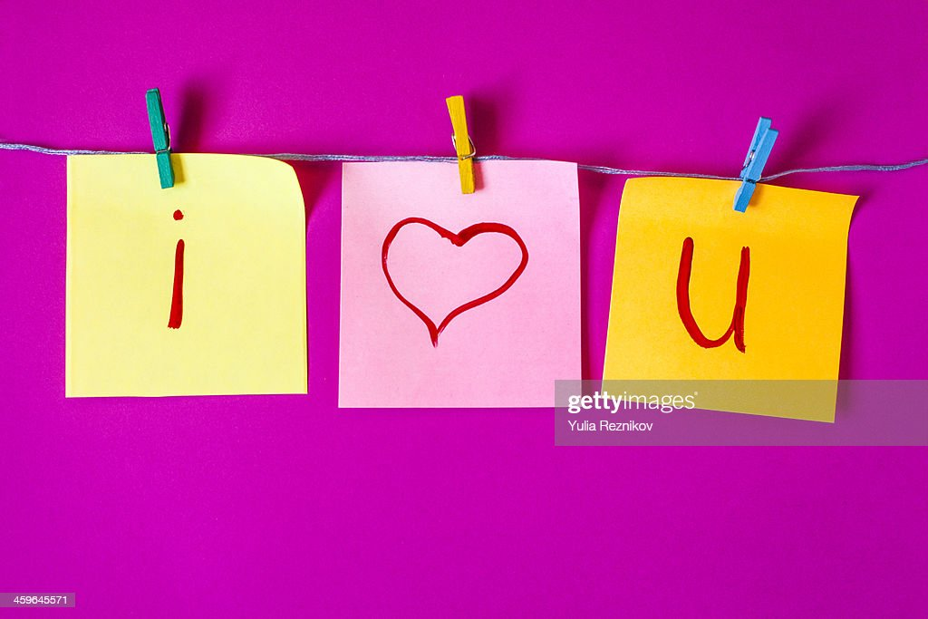 i love you : Stock Photo