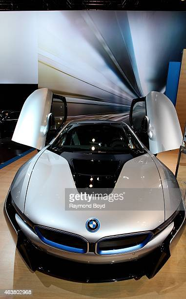 BMW i8 at the 107th Annual Chicago Auto Show at McCormick Place in Chicago Illinois on FEBRUARY 13 2015
