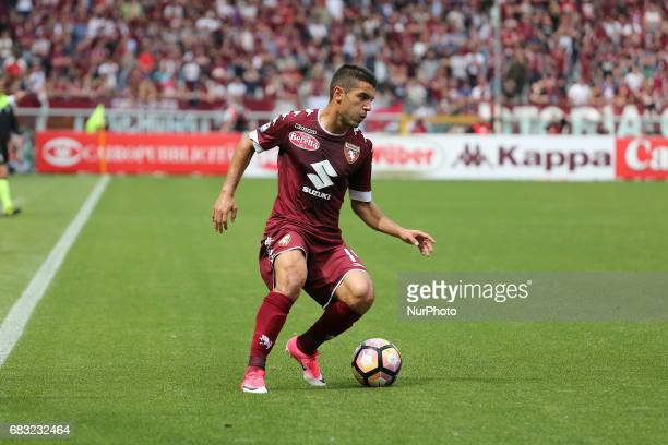 Iago Falque in action during the Serie A football match between Torino FC and SSC Napoli at Olympic stadium Grande Torino on may 14 2017 in Turin...