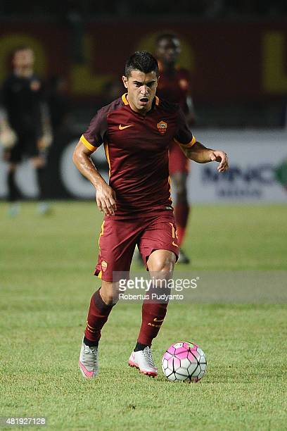 Iago Falque of AS Roma in action during the international friendly match between AS Roma A and AS Roma B at Gelora Bung Karno Stadium on July 25 2015...