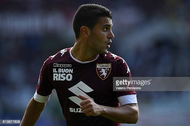 Iago Falque of FC Torino looks on during the Serie A match between FC Torino and Empoli FC at Stadio Olimpico di Torino on September 18 2016 in Turin...