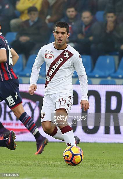 Iago Falque of Torino during the Serie A match between FC Crotone and FC Torino at Stadio Comunale Ezio Scida on November 20 2016 in Crotone Italy
