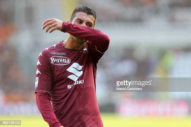 Iago Falque of Torino FC despairs during the Serie A football match between Torino Fc and As Roma As Roma wins 10 over Torino Fc