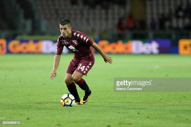 Iago Falque of Torino FC in action during the Italia Tim Cup match between Torino Fc and Trapani Calcio Torino Fc wins 71 over Trapani Calcio