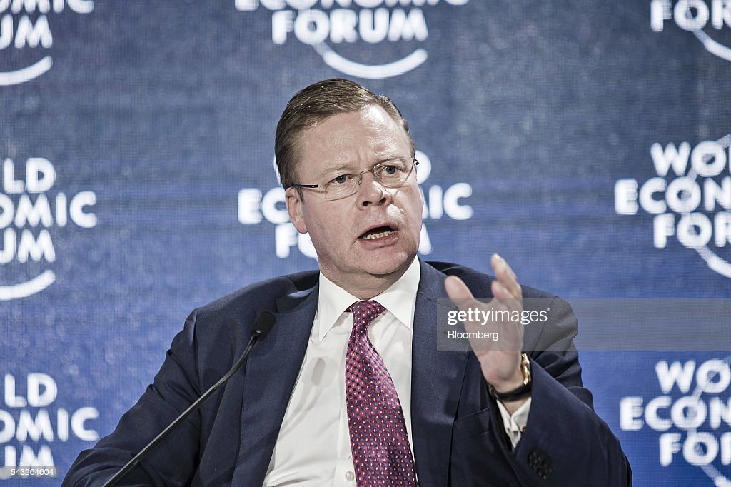 Iain Conn, chief executive officer of Centrica Plc, speaks during the World Economic Forum (WEF) Annual Meeting of the New Champions in Tianjin, China, on Monday, June 27, 2016. The meeting runs through June 28. Photographer: Qilai Shen/Bloomberg via Getty Images