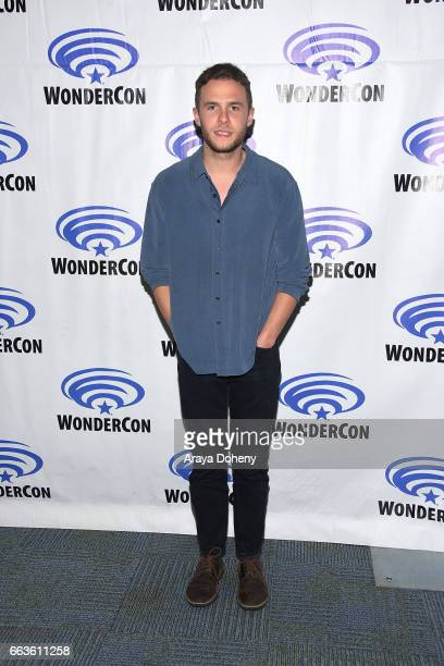 Iain De Caestecker attends the 'Agents of SHIELD' press panel at day two of WonderCon 2017 the at Anaheim Convention Center on April 1 2017 in...