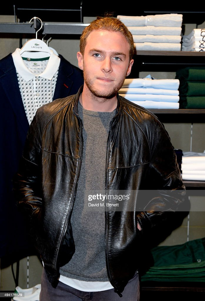 Iain De Caestecker attends the Lacoste Store Reopening on May 28, 2014 in London, England.