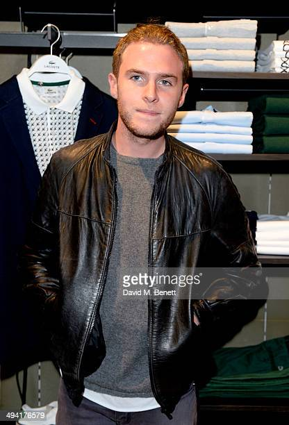 Iain De Caestecker attends the Lacoste Store Reopening on May 28 2014 in London England