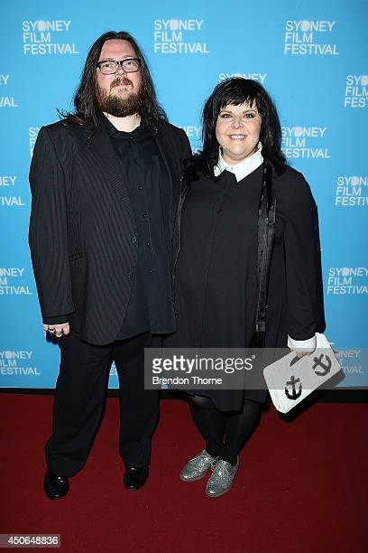 Iain Forsyth and Jane Pollard arrives at the Sydney Film Festival Closing Night Gala at the State Theatre on June 15 2014 in Sydney Australia