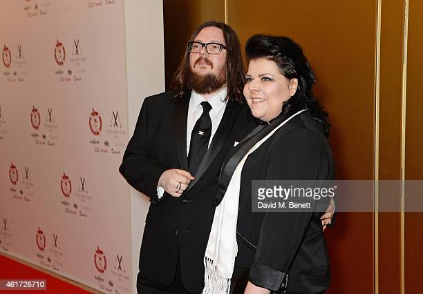 Iain Forsyth and Jane Pollard attend The London Critics' Circle Film Awards at The Mayfair Hotel on January 18 2015 in London England