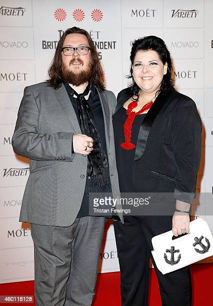 Iain Forsyth and Jane Pollard attend The Moet British Independent Film Awards at Old Billingsgate Market on December 7 2014 in London England