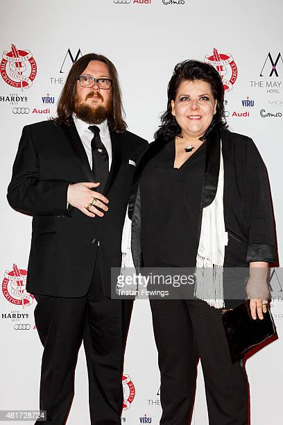 Iain Forsyth and Jane Pollard ttends The London Critics' Circle Film Awards at The Mayfair Hotel on January 18 2015 in London England