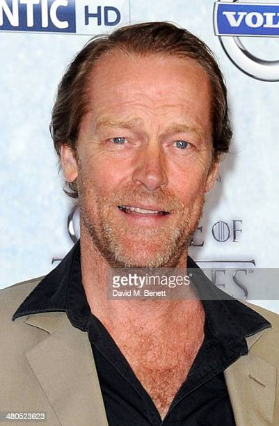 Iain Glen attends the Season 4 premiere of 'Game of Thrones' at The Guildhall on March 25 2014 in London England