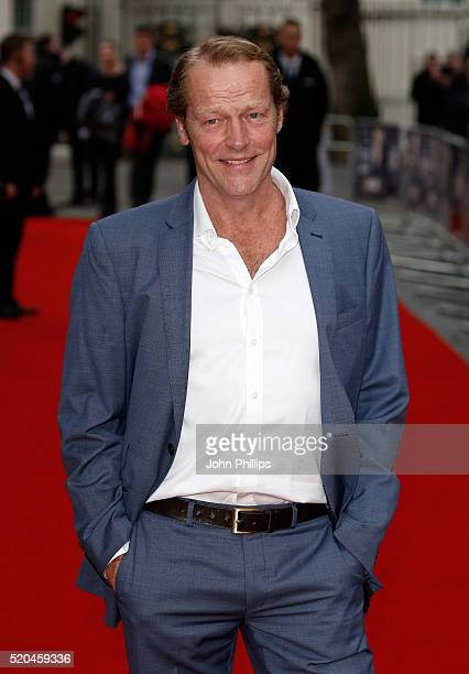 Iain Glen attends the UK premiere of 'Eye In The Sky' at the Curzon Mayfair on April 11 2016 in London United Kingdom