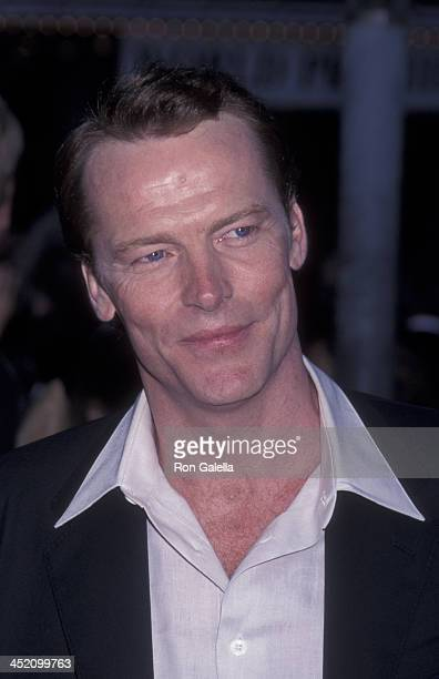 Iain Glen attends the world premiere of 'Lara Croft Tomb Raider' on June 11 2001 at Mann Village Theater in Westwood California