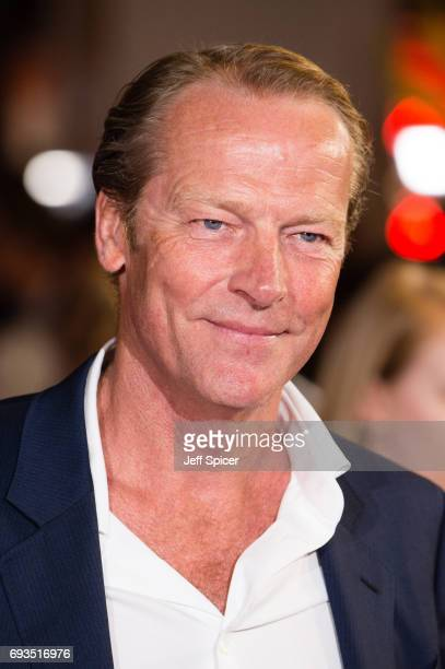 Iain Glen attends the World Premiere of 'My Cousin Rachel' at Picturehouse Central on June 7 2017 in London England