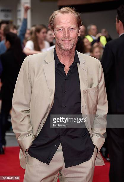 Iain Glen attends the World Premiere of 'The Bad Education Movie' at the Vue West End on August 20 2015 in London England