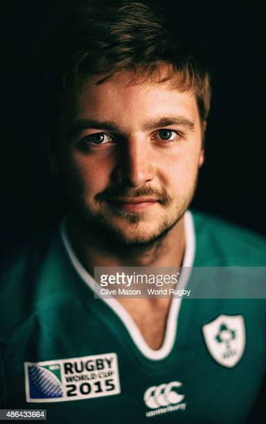 Iain Henderson of Ireland poses for a portrait on June 28 2015 in Maynooth Ireland