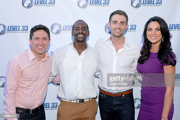 Ian Alda Keith Robinson Jonathan Bennett and Nadia Bjorlin attend 'Divorce Invitation' Los Angeles Premiere at Arena Cinema Hollywood on May 12 2013...