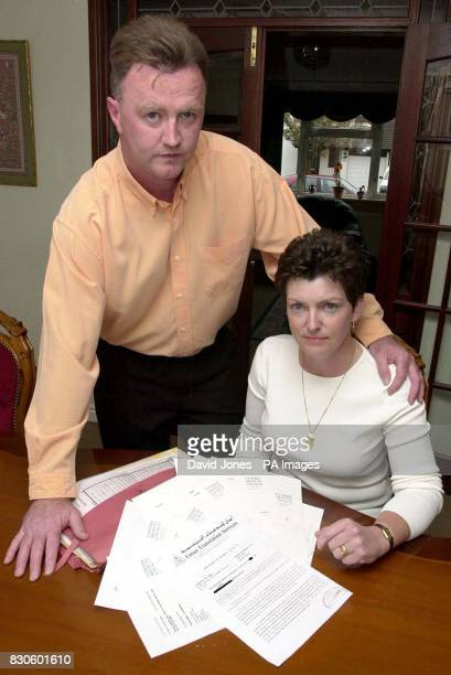 Ian and Bev Vernon who are planning a High Court challenge to the General Medical Council's decision that it cannot consider their complaint against...