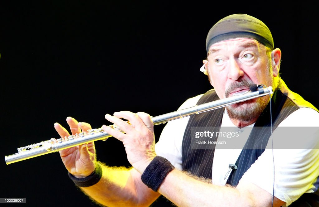 <a gi-track='captionPersonalityLinkClicked' href=/galleries/search?phrase=Ian+Anderson&family=editorial&specificpeople=615834 ng-click='$event.stopPropagation()'>Ian Anderson</a> of Jethro Tull performs live during a concert at the Zitadelle Spandau on July 22, 2010 in Berlin, Germany. The concert is part of the Citadel Music Festival 2010.