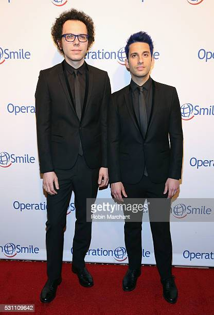 Ian Axel and Chad King of A great Big World attend 2016 Operation Smile Gala at Cipriani 42nd Street on May 12 2016 in New York City