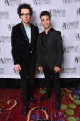 Ian Axel and Chad Vaccarino of A Great Big World attend Songwriters Hall of Fame 45th Annual Induction And Awards at Marriott Marquis Theater on June...