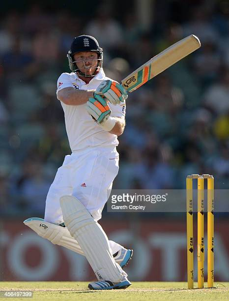 Ian Bell of England bats during day two of the Third Ashes Test Match between Australia and England at WACA on December 14 2013 in Perth Australia