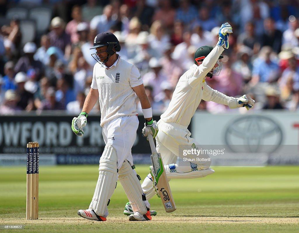 England v Australia: 2nd Investec Ashes Test - Day Four