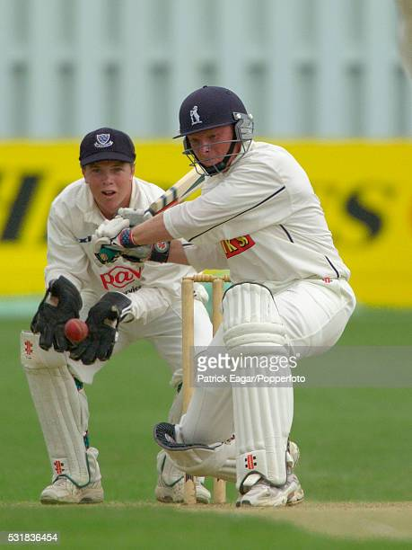 Ian Bell of Warwickshire batting during the Benson and Hedges QuarterFinal between Sussex and Warwickshire at Hove England 22nd May 2002 Ian Bell was...