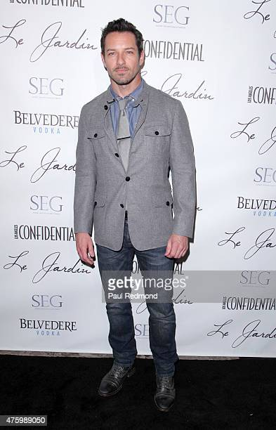 Ian Bohen arrives at Sunset Entertainment Group hosts Grand Opening of outdoor lounge Le Jardin at Le Jardin on June 4 2015 in Hollywood California